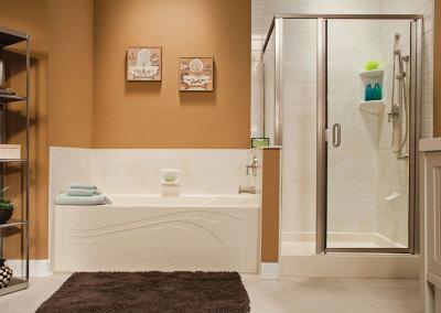 acrylic-bathtub shower-11